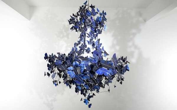 Solar powered cobalt lights jeroen verhoeven butterfly chandelier solar powered cobalt lights aloadofball Choice Image