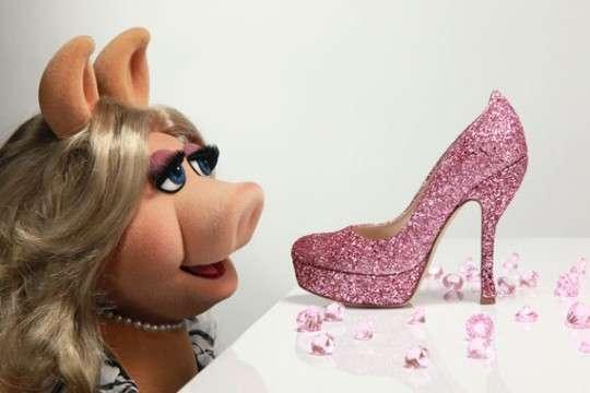 Pink Piggy Pumps