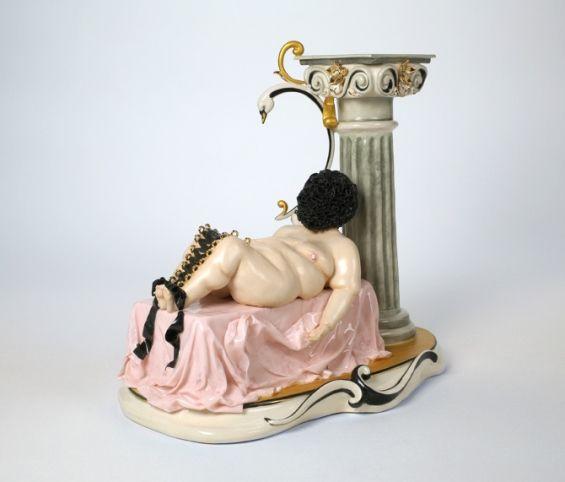 Provocative Porcelain Figures