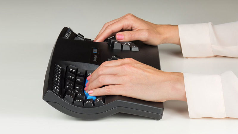 Pressure-Alleviating Keyboards