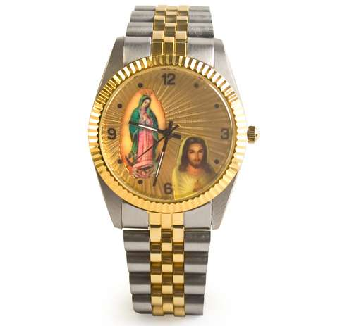 Kitschy Religious Icon Timepieces