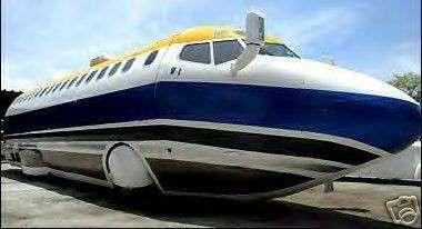 Jet Limo Crashes Onto eBay