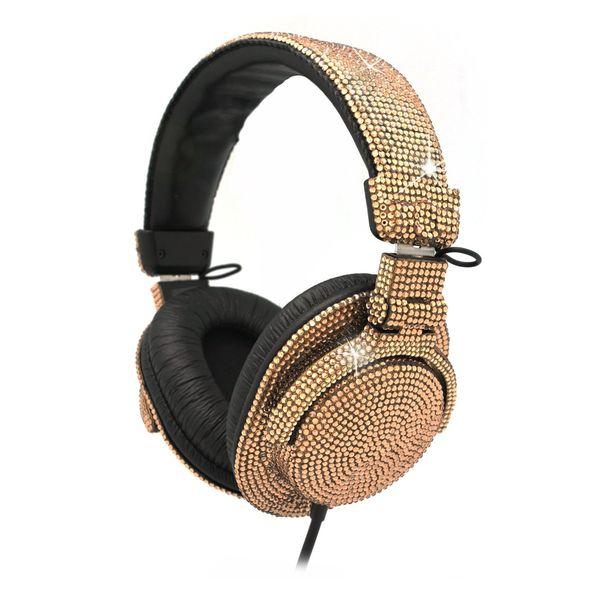 Crystal-Encrusted Earphones