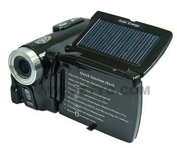 Solar-Powered Camcorders