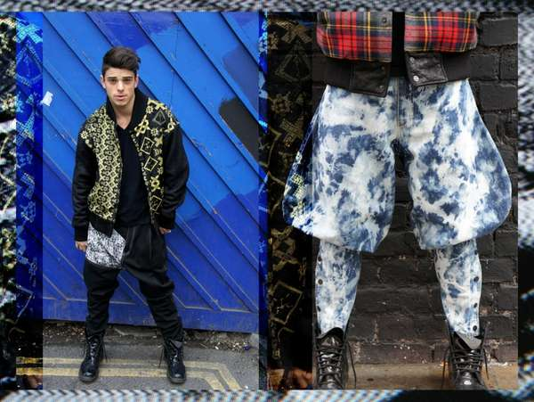 Edgy Exaggerated Streetwear