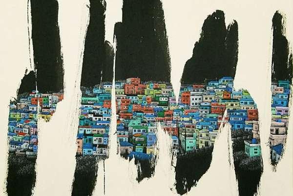 Metropolis Revealing Paintings