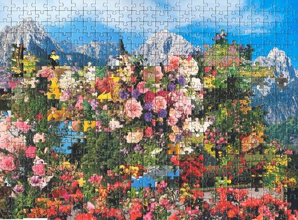 Combined Scenery Collages Jigsaw Puzzle Art