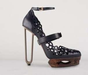 Paperclip Heels