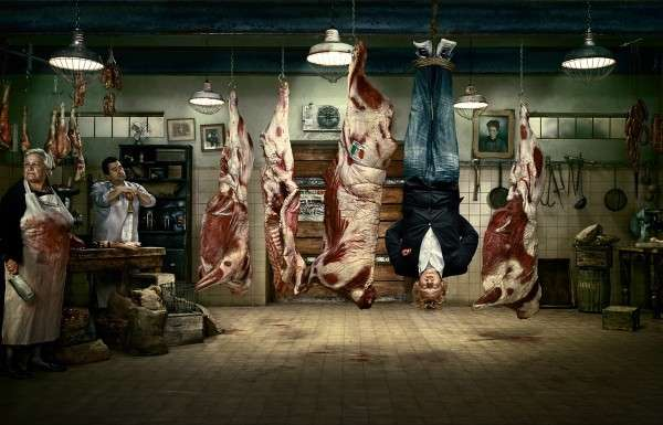 Backwards Butcher Shops