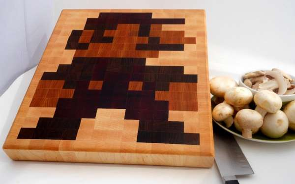 Retro Gaming Cutting Boards