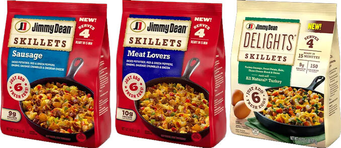 Readymade Frozen Skillet Meals