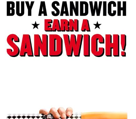 Suprise Sandwich Giveaways