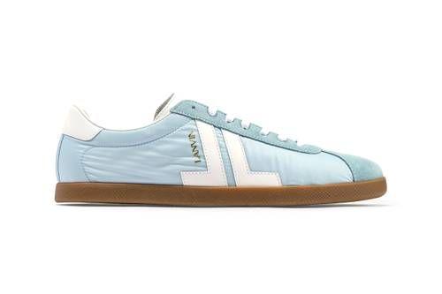 Retro Nylon-Blended Sneakers