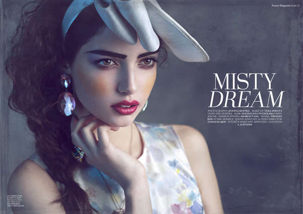 Romantic Couture Editorials