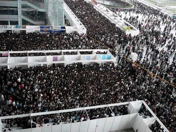Job Fair in China