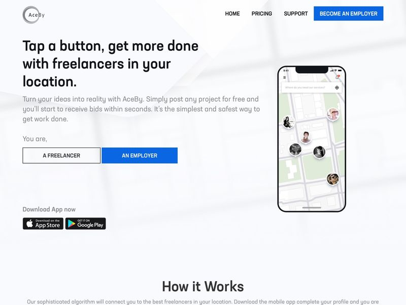Freelancer Project-Finding Apps