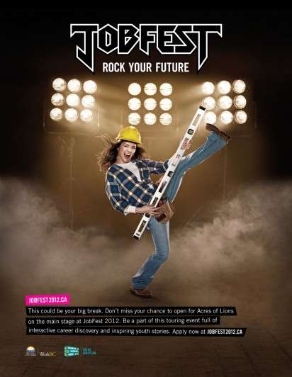 Rocking Career Ads