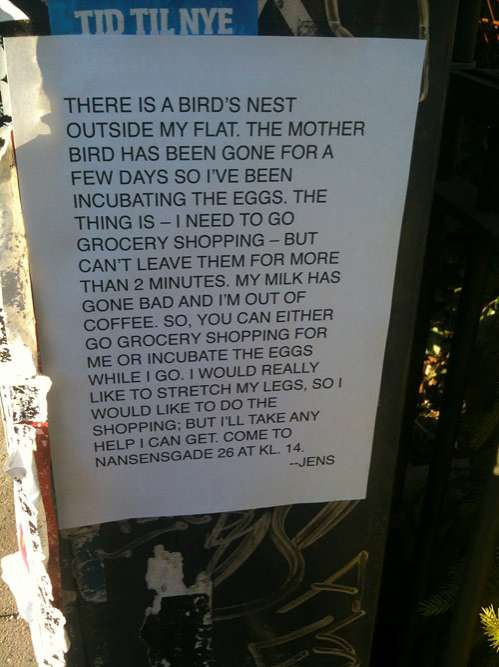 Silly Anecdotal Street Posters