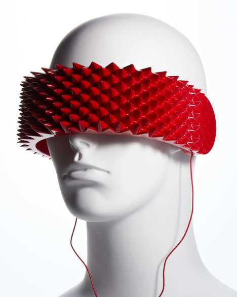 Spiky Eye-Covering Sound Pieces