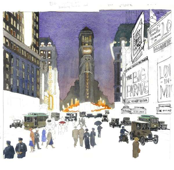 Nostalgic New York Illustrations