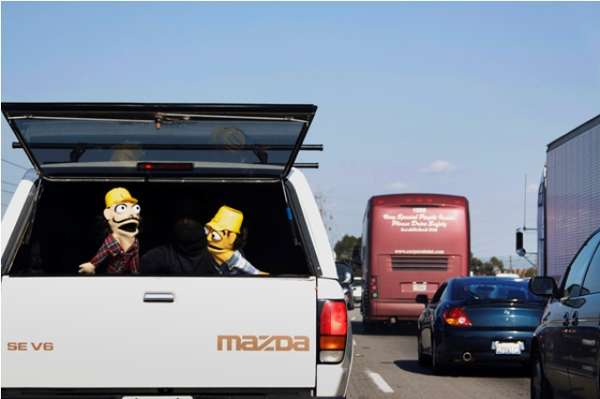 Traffic Jam Puppet Shows