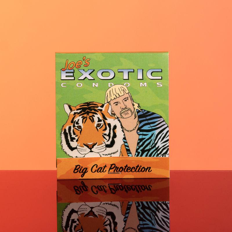 Tiger Documentary-Themed Condoms