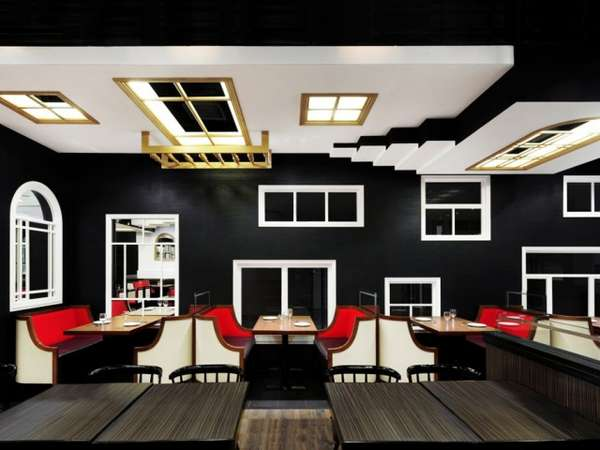 Escher-Inspired Eateries