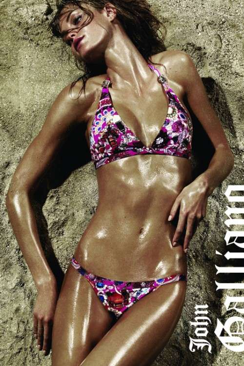 Bronzed Body Ads