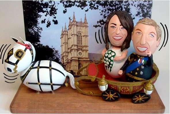 Eggceptional Celebrity Sculptures