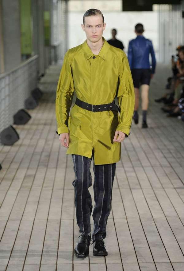Feminine Military Menswear