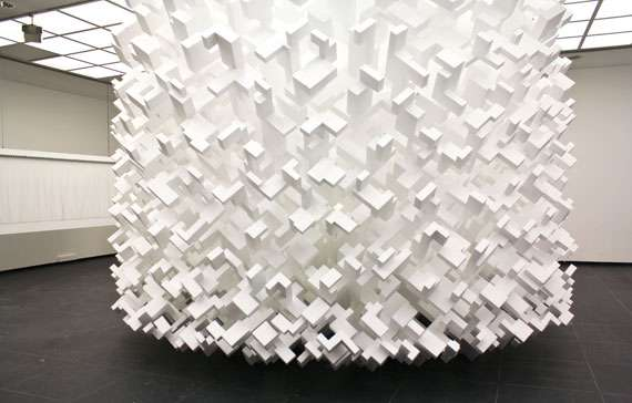 Clustered Geometric Sculptures