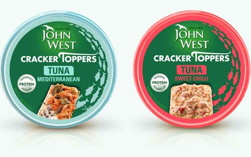 Premixed Canned Tuna Snacks