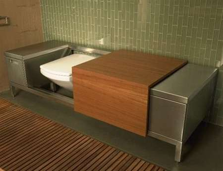 The Bench Toilet: Troy Adams Luxury Loo