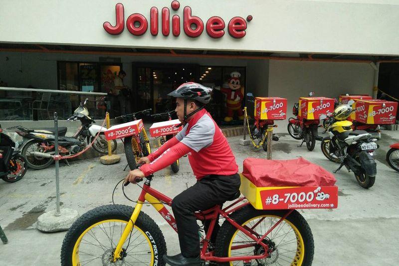 Fast Food Bike Deliveries