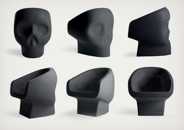 Skull-Shaped Seating