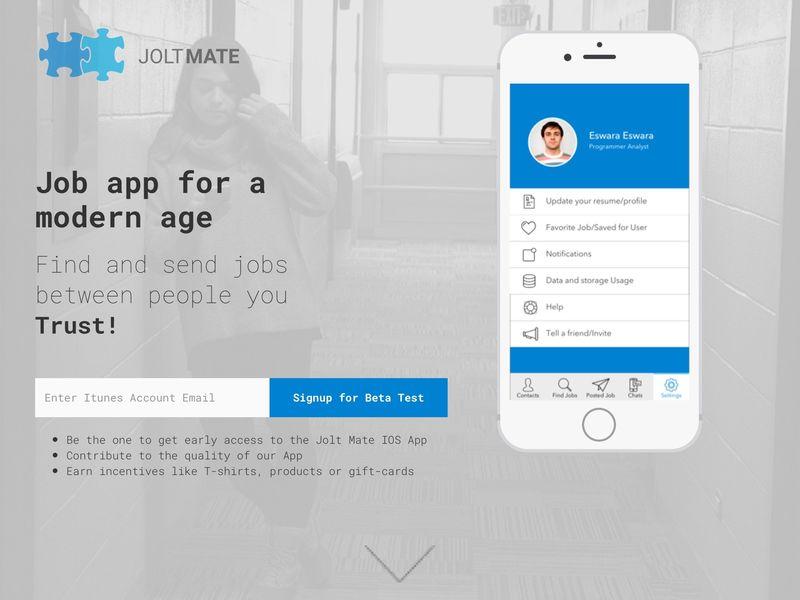 Social Job-Finding Apps