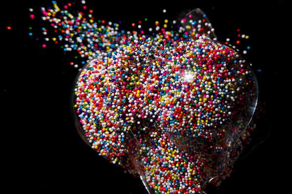 Vibrant Bulb Bursting Captures