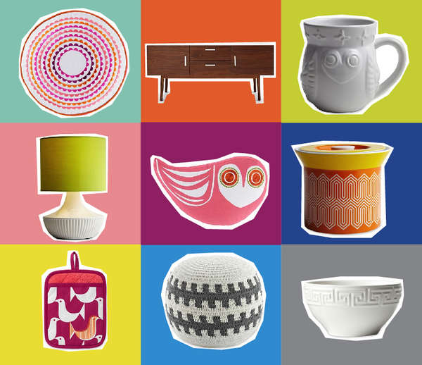 Cheerful Chic-Patterned Furnishings