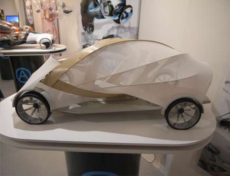 Wooden Cocoon Cars