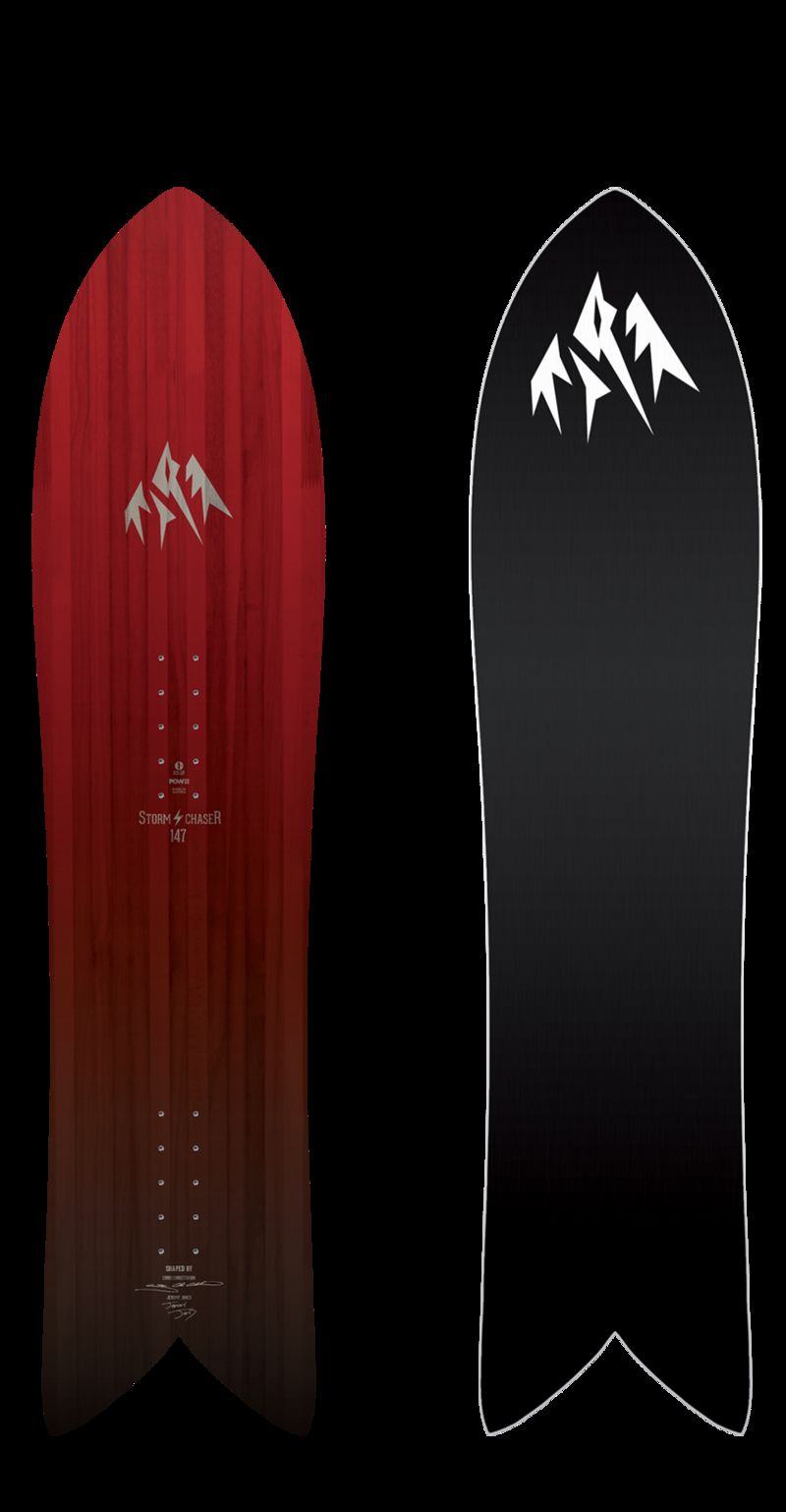 Surf-Inspired Snowboards