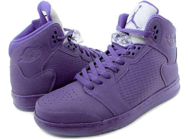 Violet Court Kicks