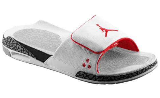 aaae82ae2 Basketball Slipper Kicks   Jordan Retro 3 Slide