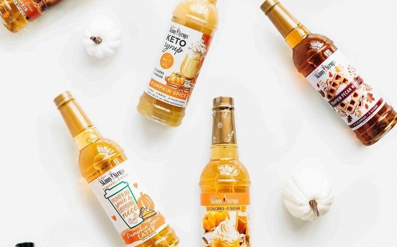 Seasonal Sugar-Free Syrups