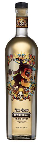 Vibrant Skull-Themed Alcohol Bottles
