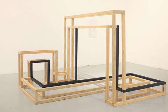 Skeletal Sculpture Installations