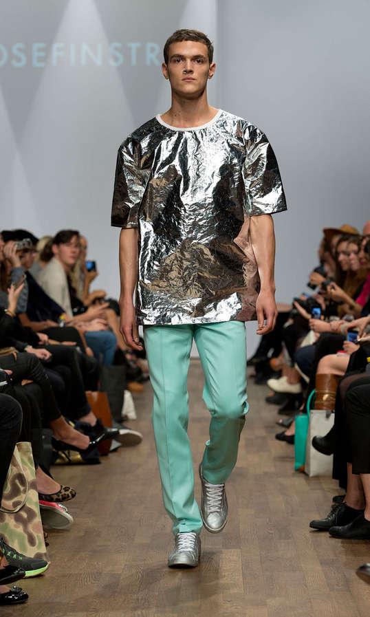 Tin Foil-Inspired Streetwear
