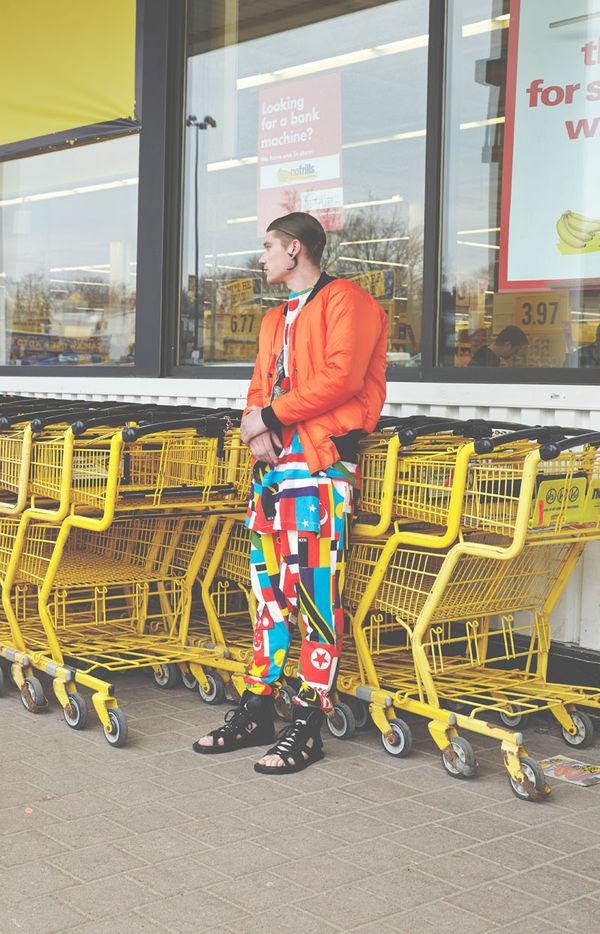 Vivid Supermarket Editorials