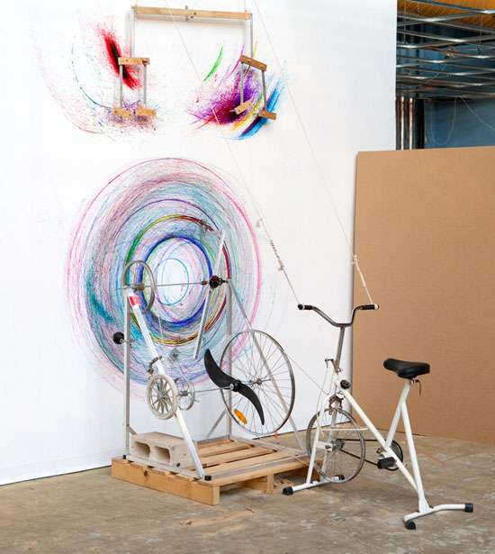 Pedal-Powered Paintings