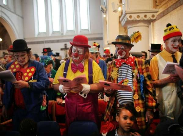 Church Clown Choirs