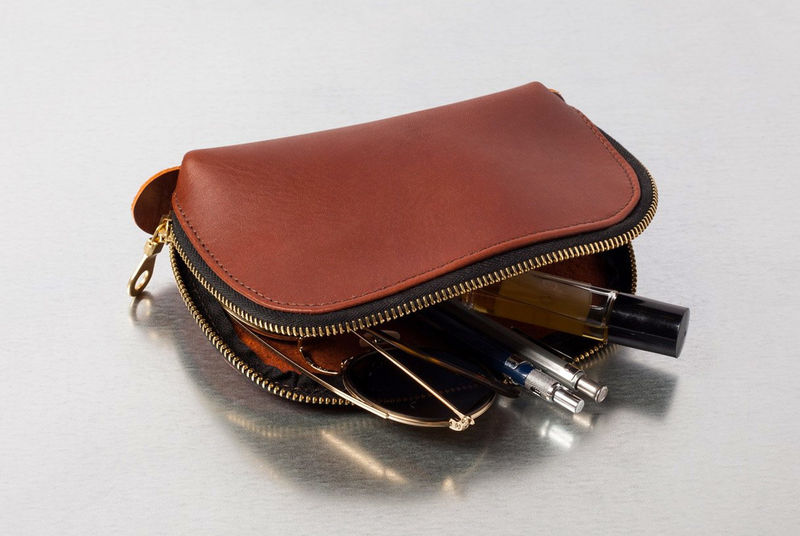 Small Luxurious Leather Pouches